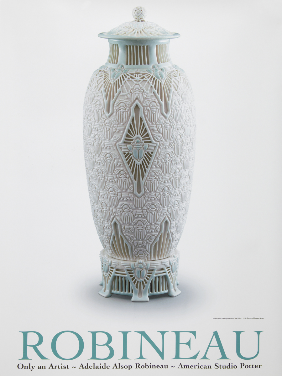 Scarab Vase Robineau Collection